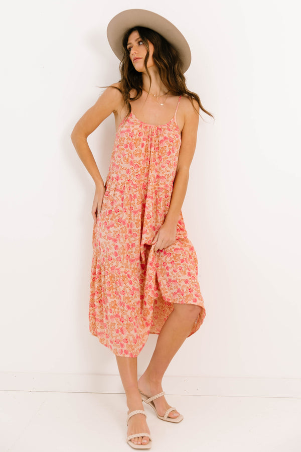 Morning Mood Woven Tank Dress - Luca + Grae