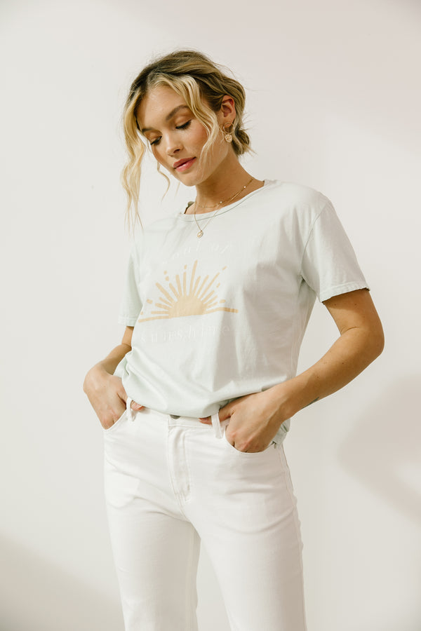 Aspyn The Label Sunshine Tee - Luca + Grae