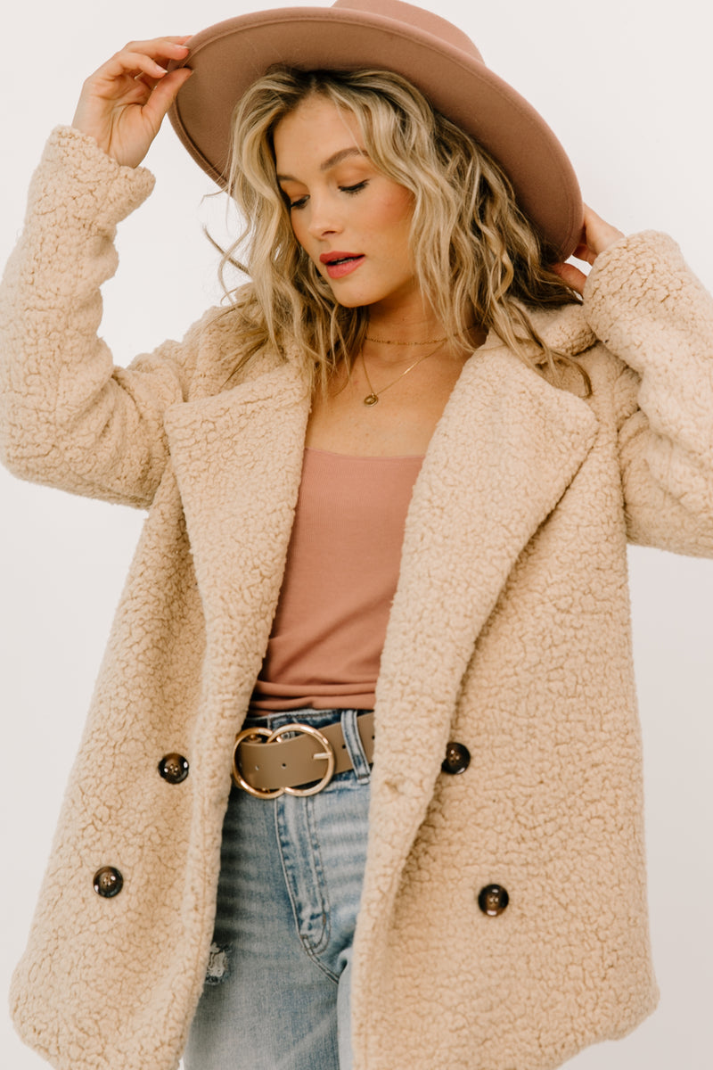 Lost & Found Tan Jacket - Luca + Grae