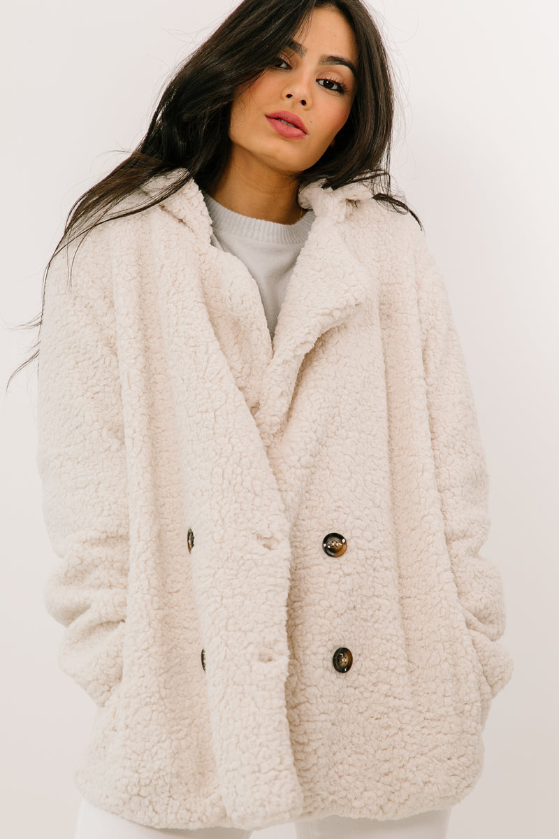 Lost & Found Ivory Jacket - Luca + Grae