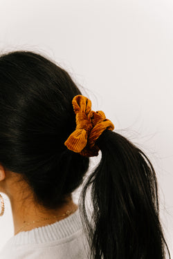True Beauty Bronze Scrunchie - Luca + Grae