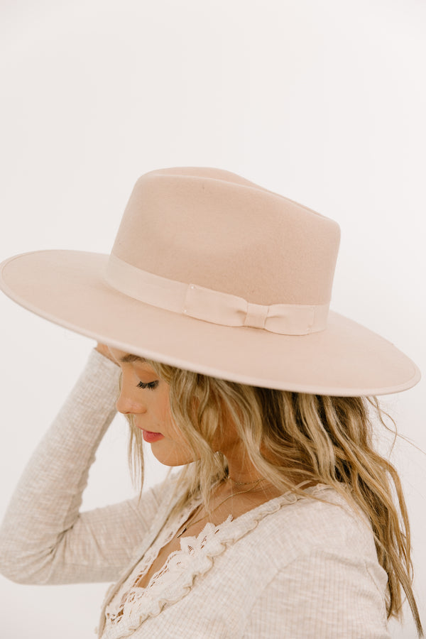 +Lenny Cream Hat - Luca + Grae