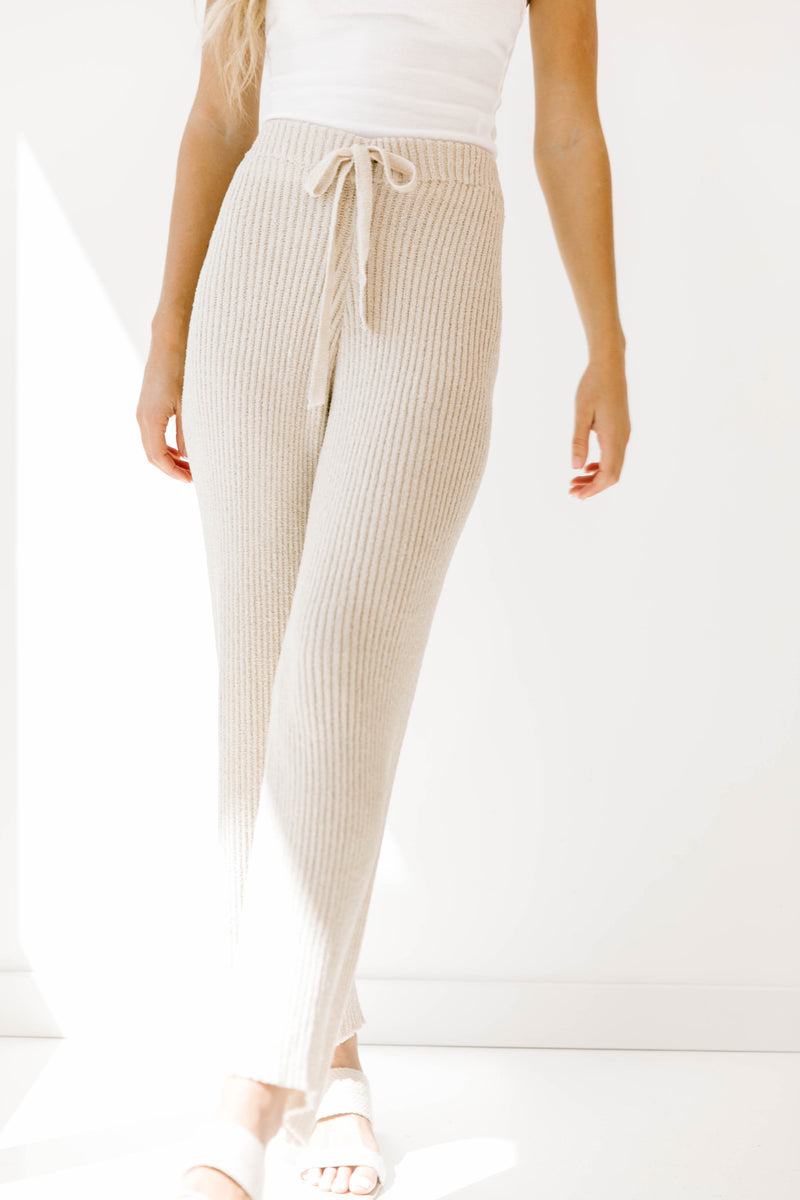 Adore You Ribbed Pants - Luca + Grae