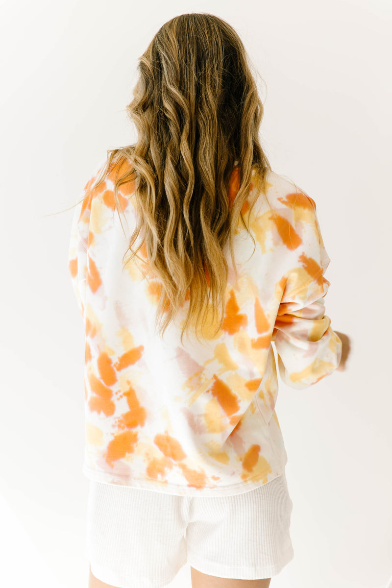 Fools Gold Tie Dye Pullover - Luca + Grae