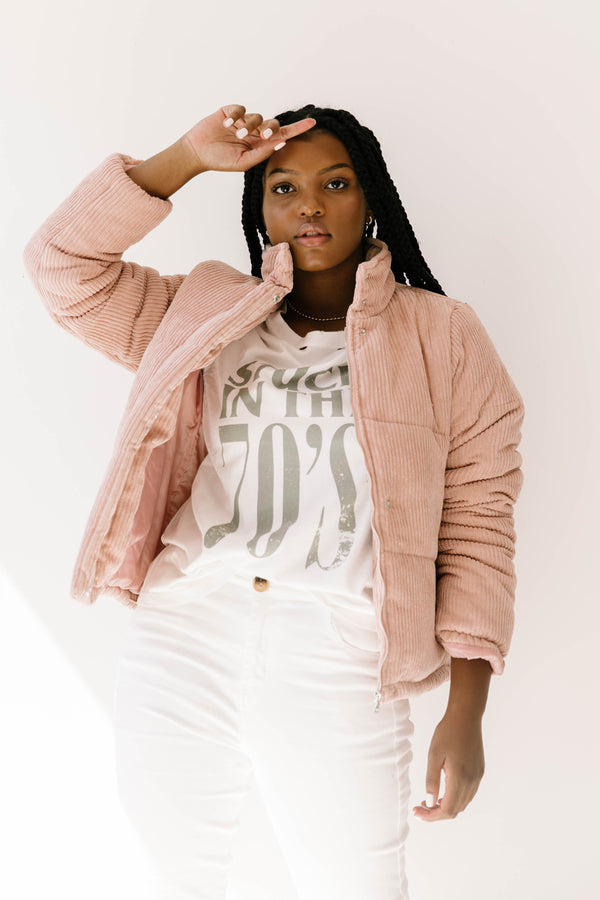 Chill Out Blush Jacket - Luca + Grae