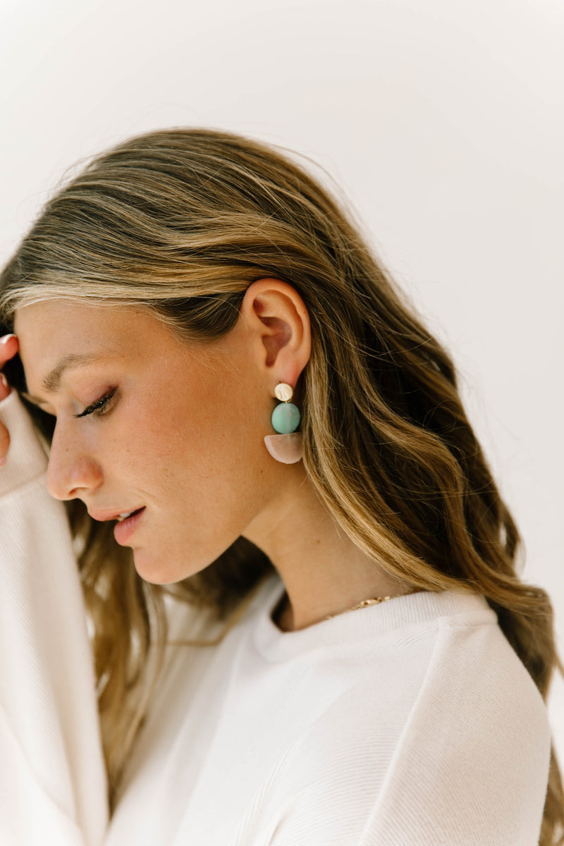 Montpellier Turquoise Earrings - Luca + Grae