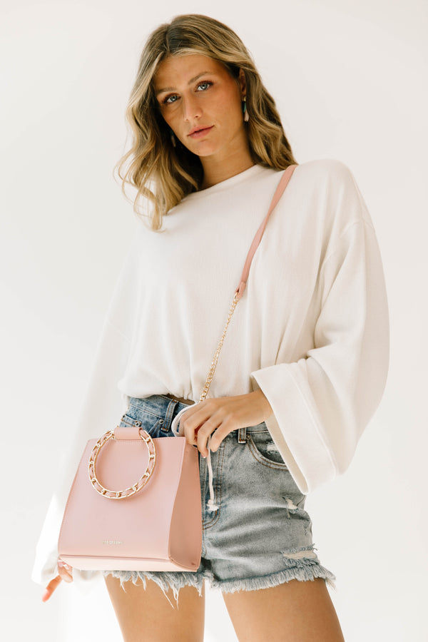 Blush Rising Handbag - Luca + Grae