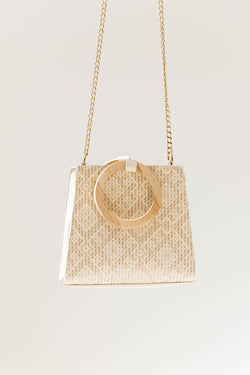 Ivory Willow Handbag - Luca + Grae