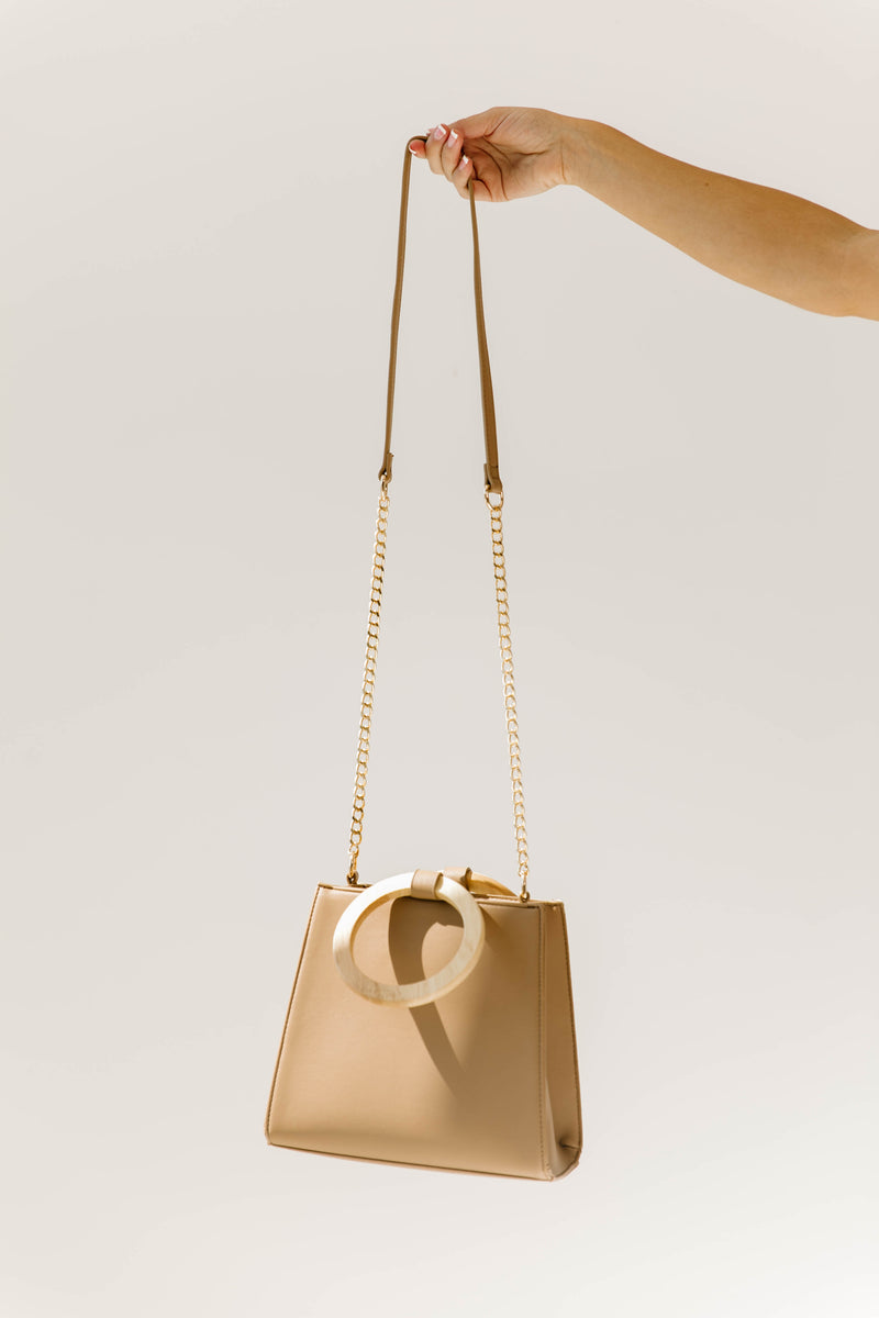 Mocha Willow Handbag - Luca + Grae