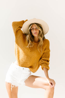Desert Skies Knit Sweater - Luca + Grae