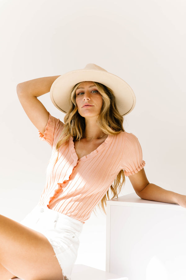South Of France Pink Top - Luca + Grae