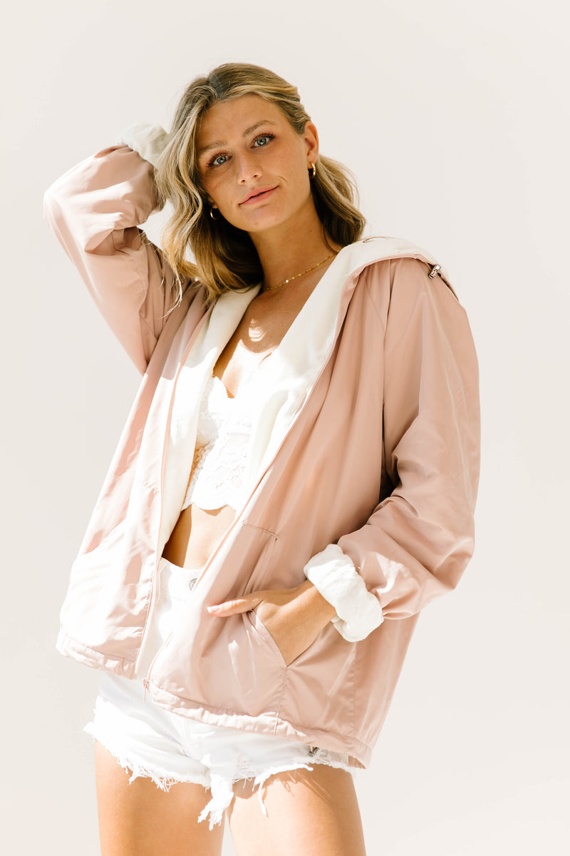 *Icon Dusty Pink Jacket - Luca + Grae