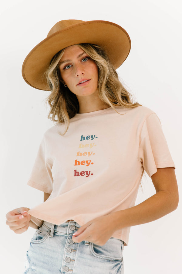 *Hey Girl Crop Top - Luca + Grae