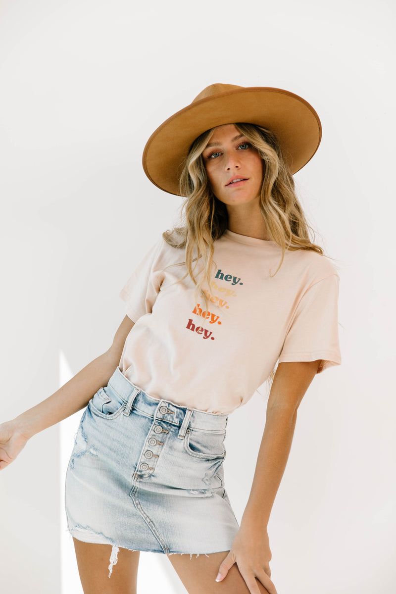 Hey Girl Crop Top - Luca + Grae