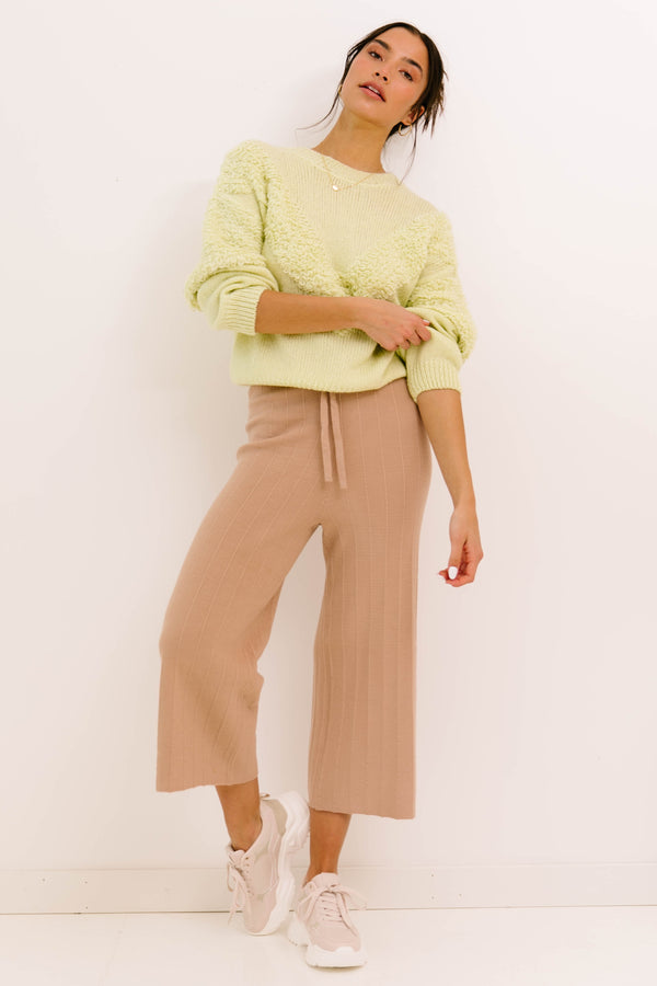 Homebody Taupe Pants - Luca + Grae