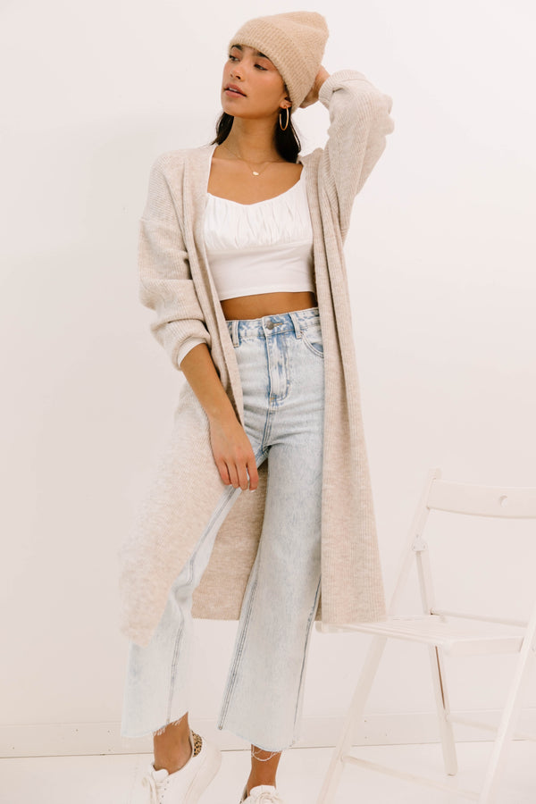 Artisan Long Sleeve Knit Cardigan - Luca + Grae