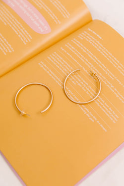 Go Wild Hoop Earrings - Luca + Grae