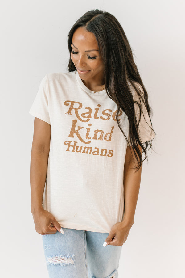 +Raise Kind Humans Tee - Luca + Grae