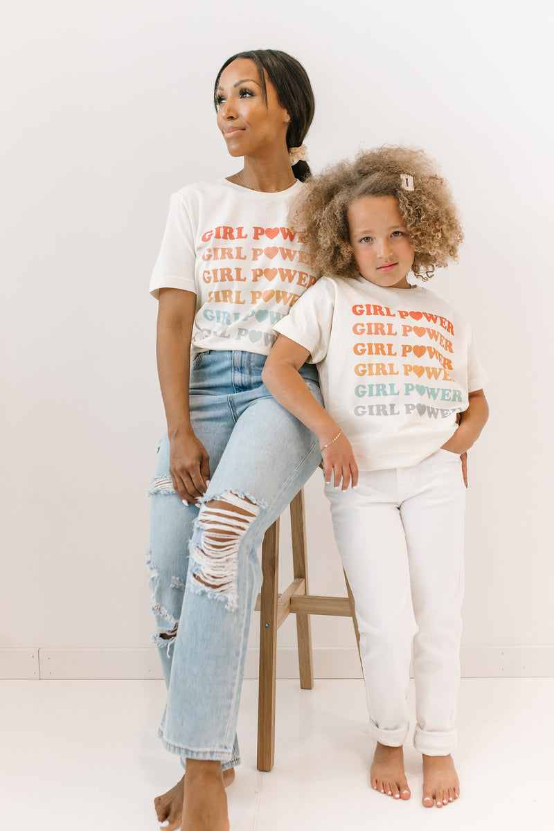 ! Girl Power Tee - Luca + Grae