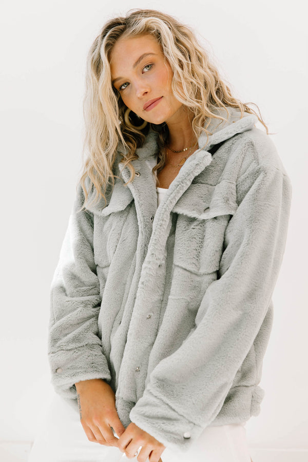 Sweet Surrender Sage Jacket - Luca + Grae