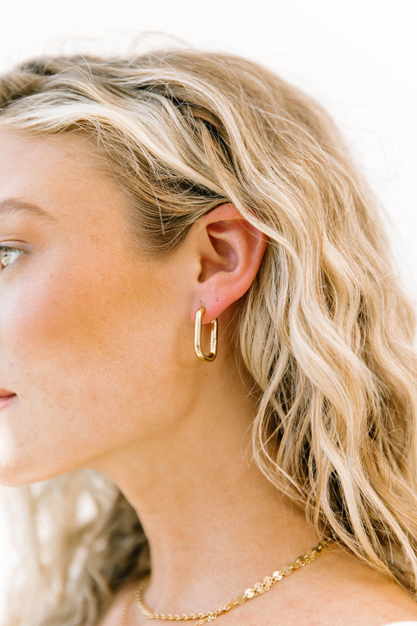 Santa Fe Hoop Earrings - Luca + Grae