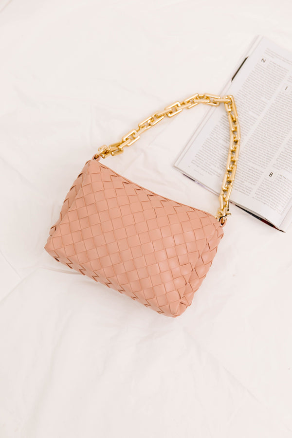 High Society Pink Handbag - Luca + Grae