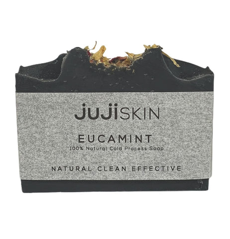 Eucamint Charcoal Cold Process Soap