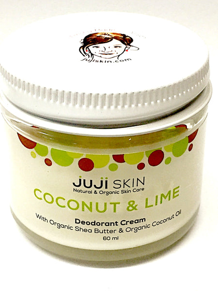Coconut & Lime Deodorant Cream - 60ml