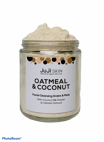 Oatmeal & Coconut Facial Cleansing Grains