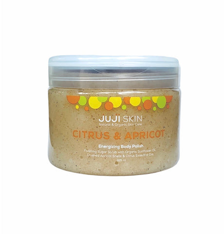Citrus & Apricot Foaming Sugar Scrub