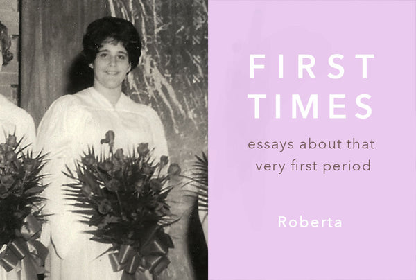 FIRST TIMES: Roberta Wore White