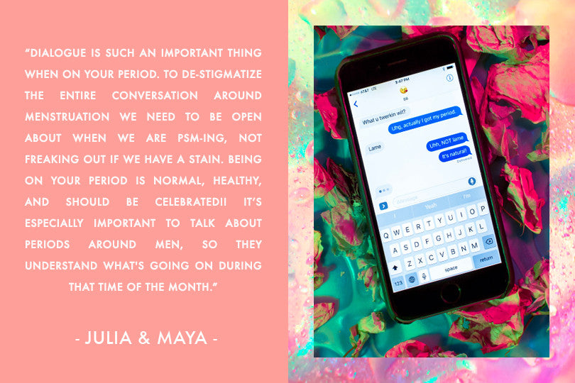 LENA Menstrual Cup Monthly Behavior Period Stories