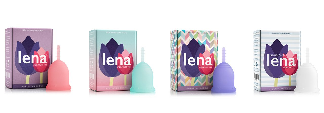 LENA Menstrual Cup Better Period Shop USA made FDA registered #1 Best beginner cup