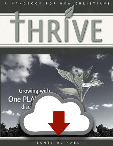 THRIVE - Handbook for New Christians (PDF Download)