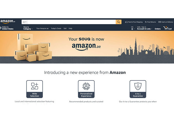 Ecommerce: Amazon rebrands, expands Middle East marketplace