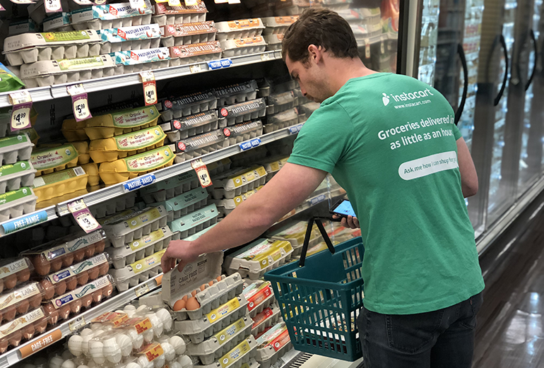 Sprouts, Harps expand Instacart delivery