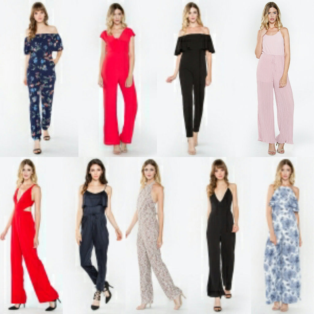 Jump into the New year in our jumpsuits