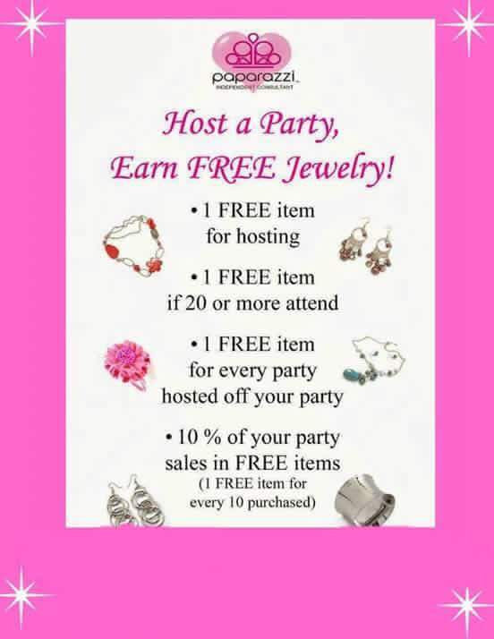 Host A CGS Accessories Party