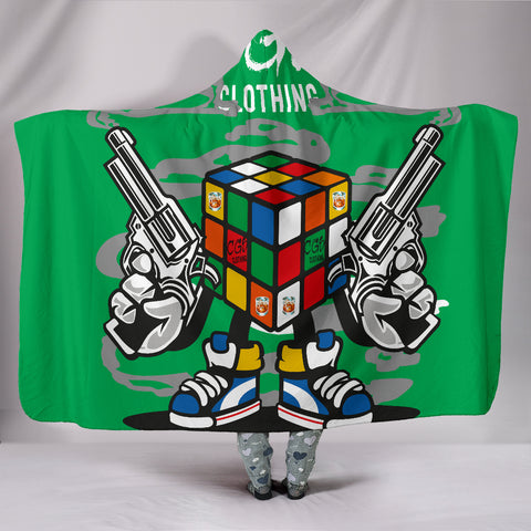 Rubix Killer Hooded Blanket