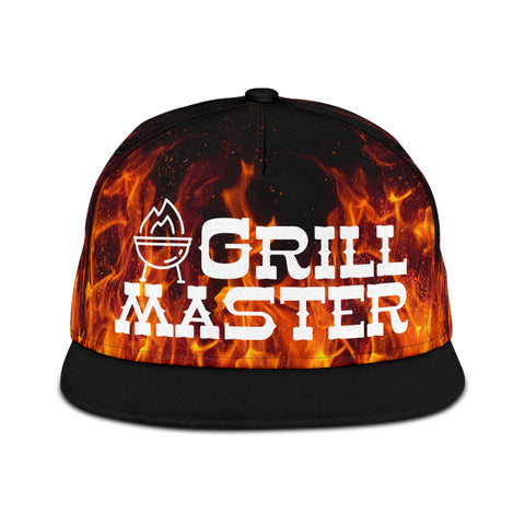 Snapback Hat Grill Master BBQ Barbecue
