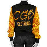 Gold Craze Women's Bomber Jacket