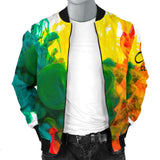 Multi Drip Bomber Jacket
