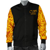 Gold Craze Bomber Jacket