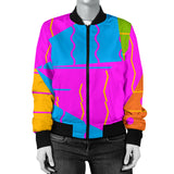 Triangles And Lines Women's Bomber Jacket