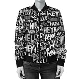 Say Hey Womens Bomber Jacket