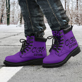 Lily Purple Boots