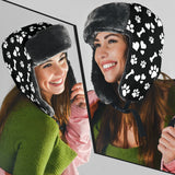 Women's Paw Prints Trapper Hat