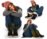 Black Gold Bandana Women's Polar Boots