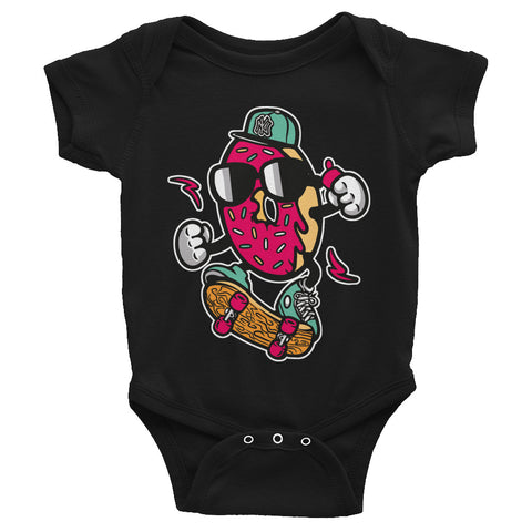 Donut Skater Infant Bodysuit