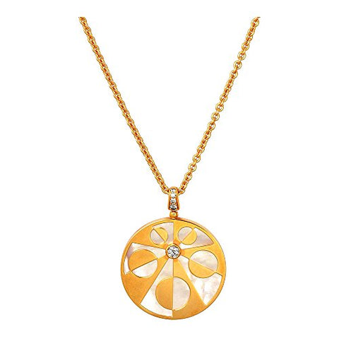 Bvlgari Intarsio 18K Rose Gold Necklace